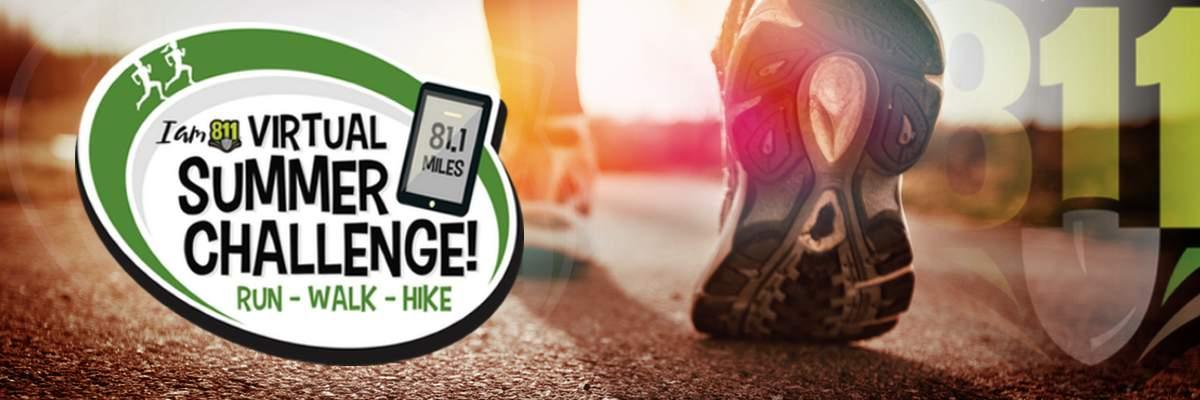 I am 811 Virtual Summer Challenge Banner Image