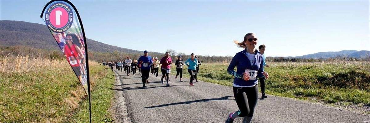 BE BOLD 4 Miler at Bold Rock Cidery Banner Image