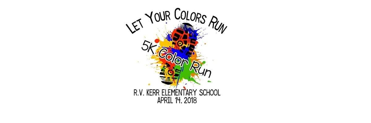 R.V. Kerr Elementary School 5k Banner Image