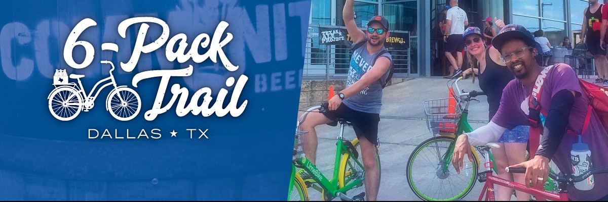 6-Pack Trail | Dallas | March 09, 2019 Banner Image