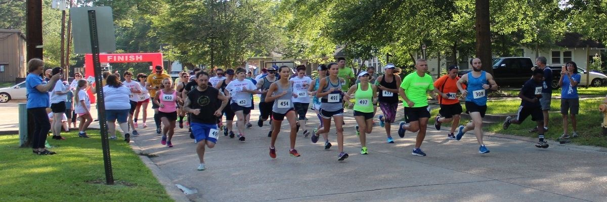 Sacred Heart Parish 5k & 1 Mile Fun Run Banner Image