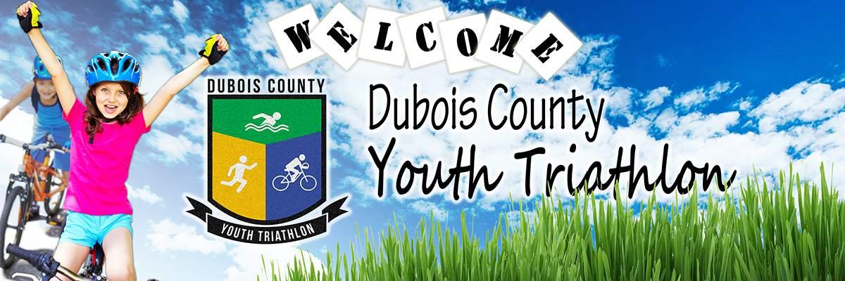 Dubois County Youth Triathlon, Duathlon, & Team Relay Banner Image