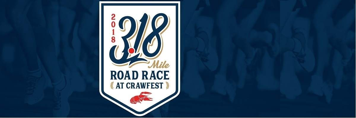 3.18 Mile Road Race at Crawfest Banner Image