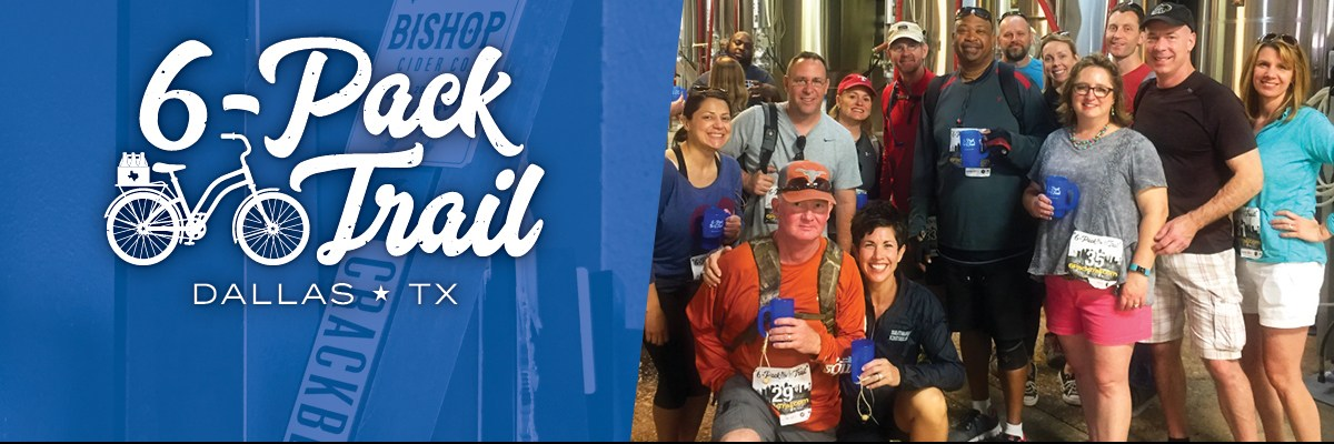6-Pack Trail | Dallas | August 24, 2019 Banner Image
