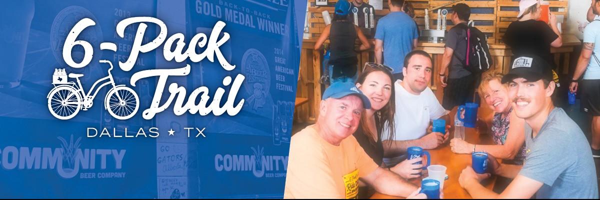 6-Pack Trail   Dallas   September 28, 2019 Banner Image