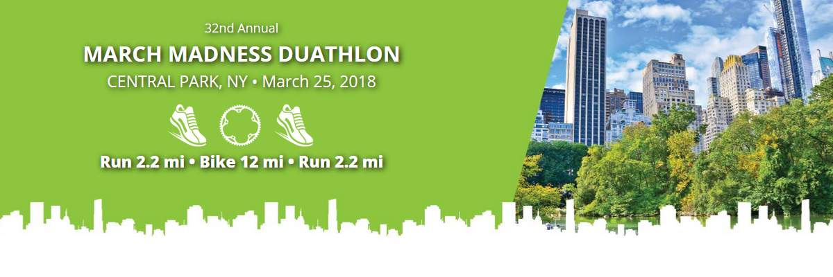 March Madness Duathlon Banner Image