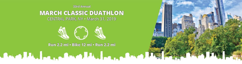 March Classic Duathlon Banner Image