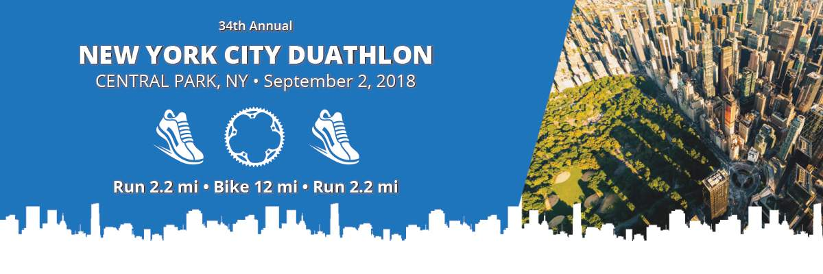 New York City Duathlon Banner Image