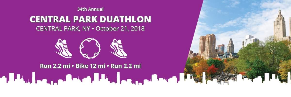Central Park Duathlon Banner Image