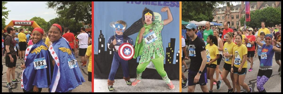 Superhero 5K Run/Walk Banner Image