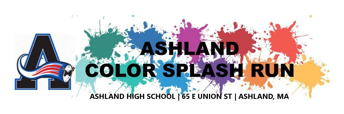 Ashland Color Splash Run Banner Image