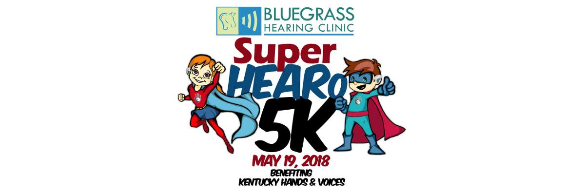 Kentucky Hands & Voices SuperHEARo 5K Banner Image