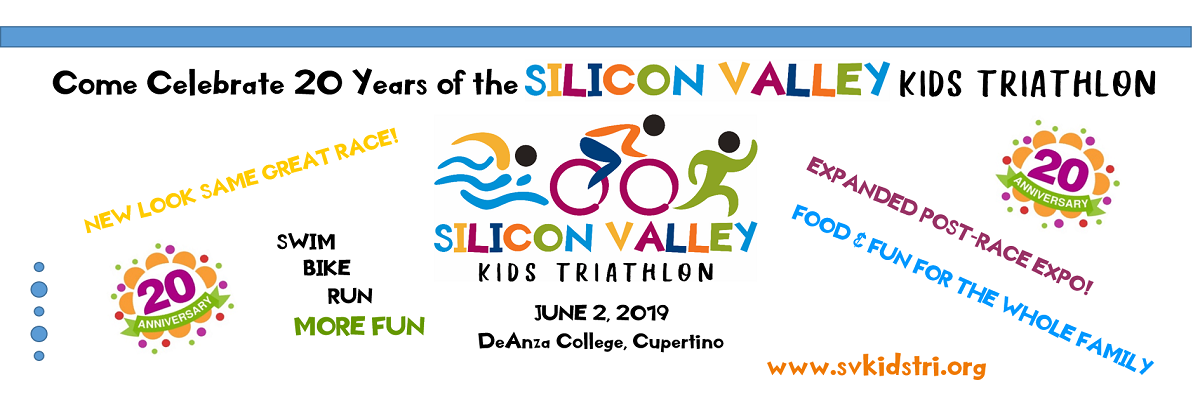 Silicon Valley Kids Triathlon Banner Image