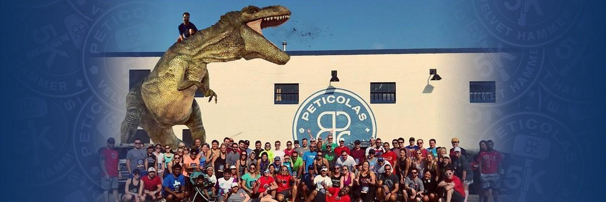 Peticolas Running Club Social Run/Walk & Early PPU - April Banner Image