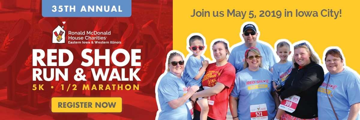 Red Shoe Run/Walk Banner Image