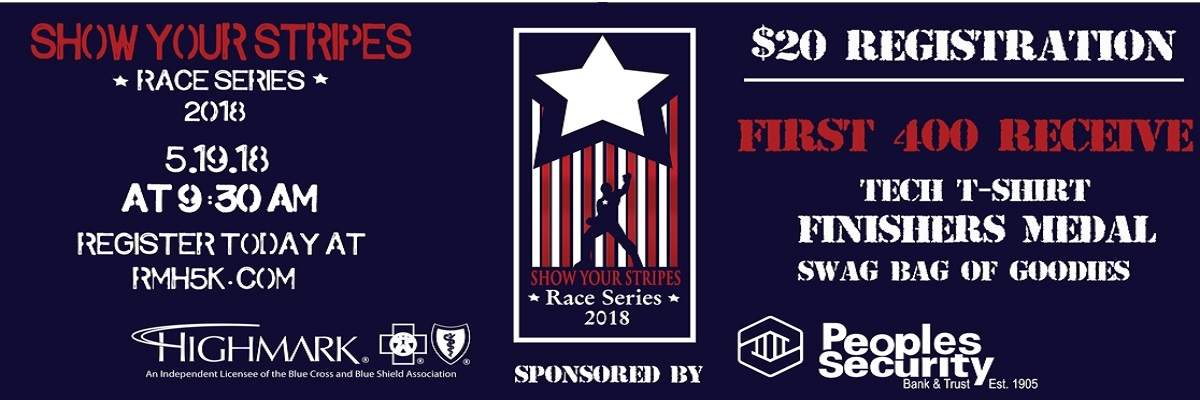 Show Your Stripes 5K Banner Image