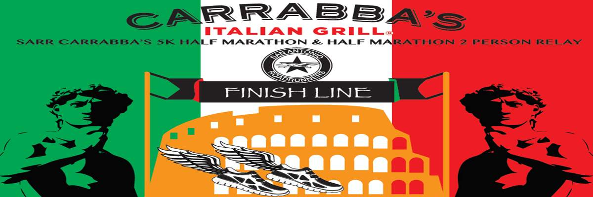 SARR Carrabba's 5K, Half Marathon, and Half Marathon 2-person Relay Banner Image