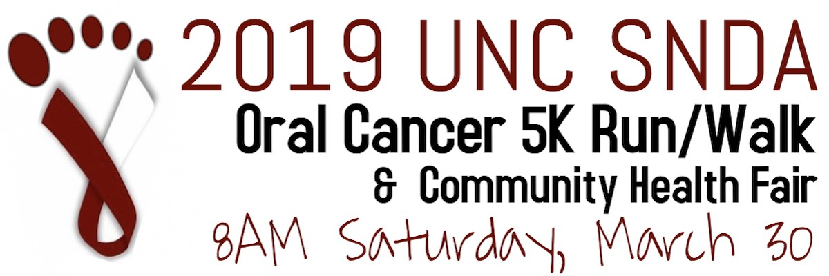 Oral Cancer 5K Walk/Run Banner Image