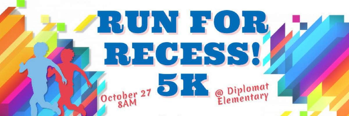 Run for Recess! 5k Banner Image