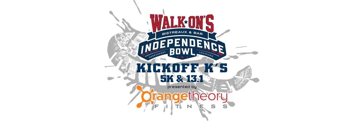 Walk-On's Independence Bowl Kickoff K's Presented by Orangetheory Fitness: 5K & Half Marathon  Banner Image