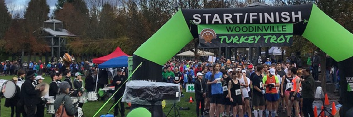 Woodinville Turkey Trot Banner Image