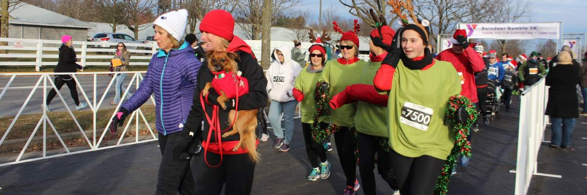 YMCA of Central Kentucky Reindeer Ramble 5K/10K Run and Fun Walk Banner Image