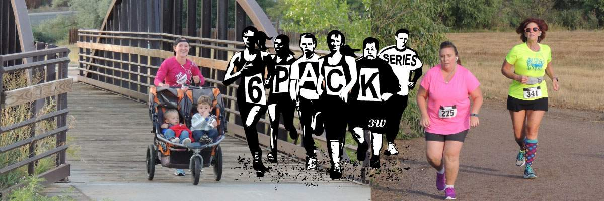 Six Pack Series Winter 2 Mile & 5k Banner Image