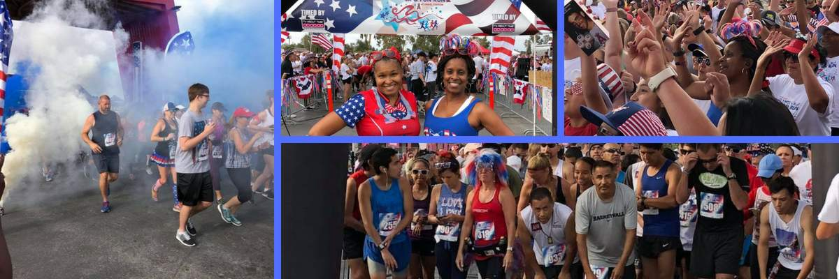 2019: 4th of July Red, White, & Blue... or BREW 5K & 1 Mile Fun Run Banner Image