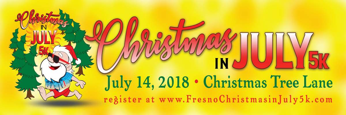 Christmas In July 5k Banner Image
