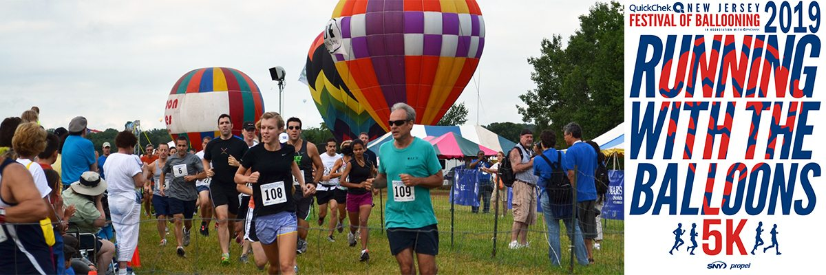 Running with the Balloons 5K Banner Image