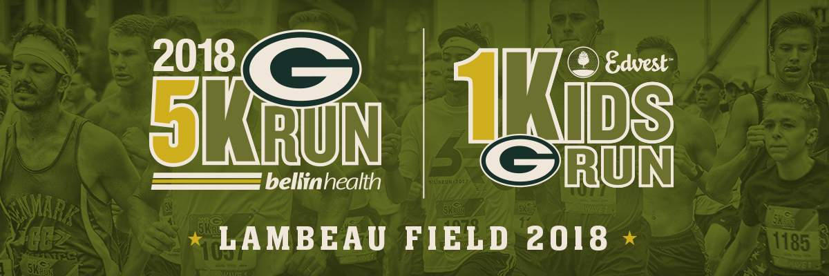 Green Bay Packers 5K Run/Walk Banner Image