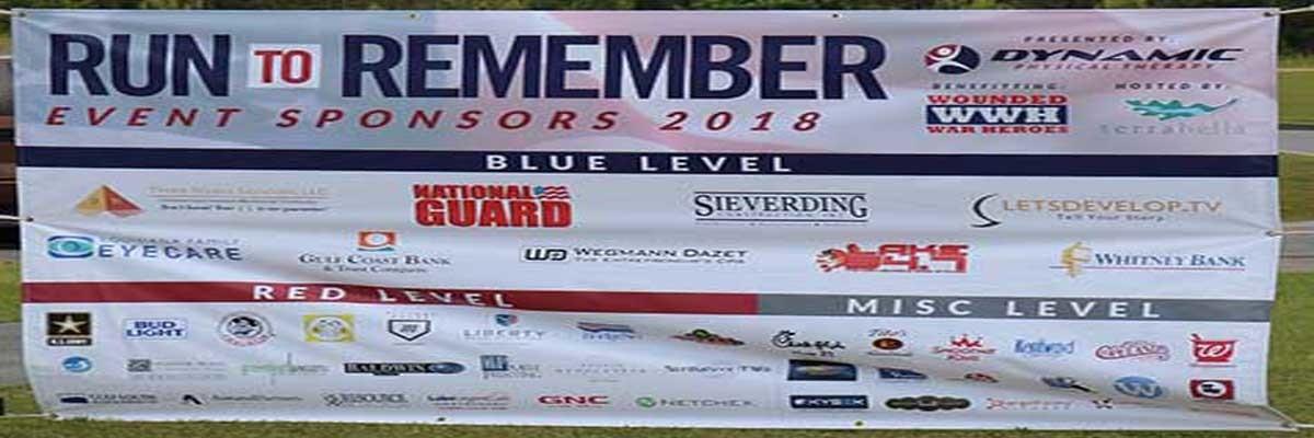 6th ANNUAL RUN TO REMEMBER COVINGTON Banner Image