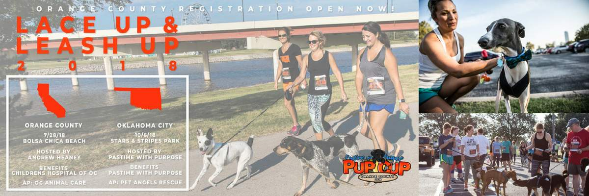 Pup Cup 5K-9 Orange County 2018 Banner Image