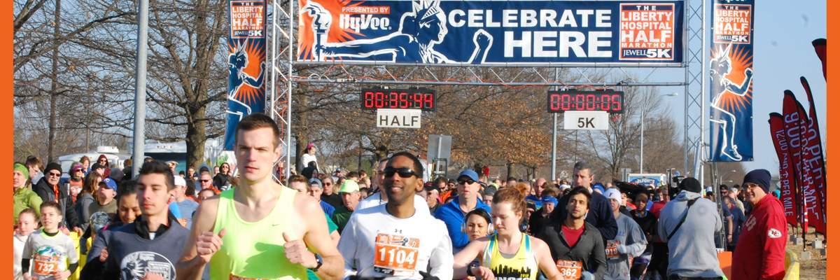 Liberty Hospital Half Marathon/Jewell 5K Banner Image