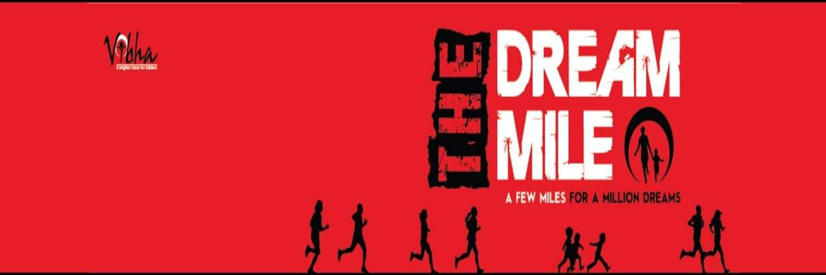 Dream Mile 5k Banner Image