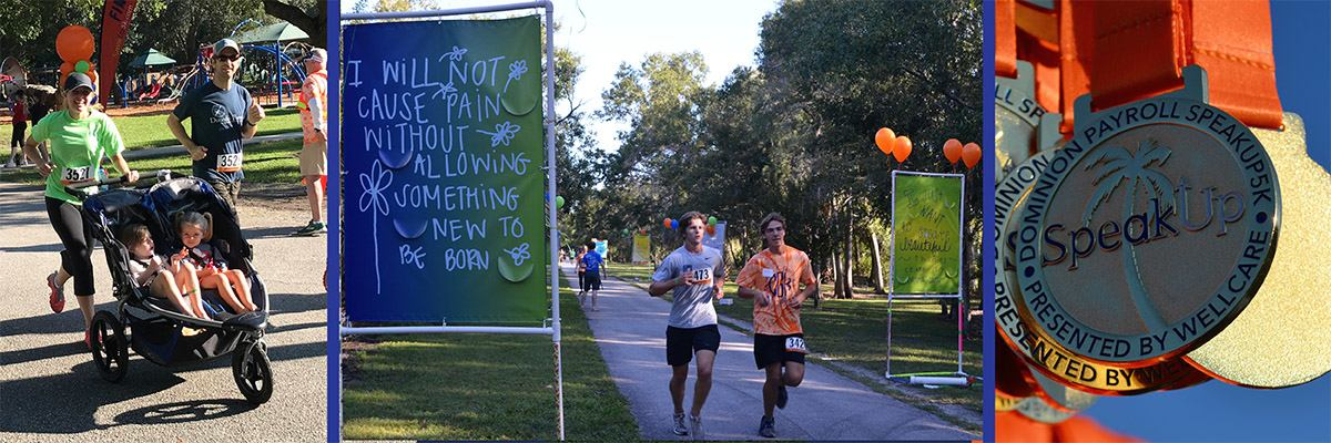 SpeakUp5k Tampa Banner Image