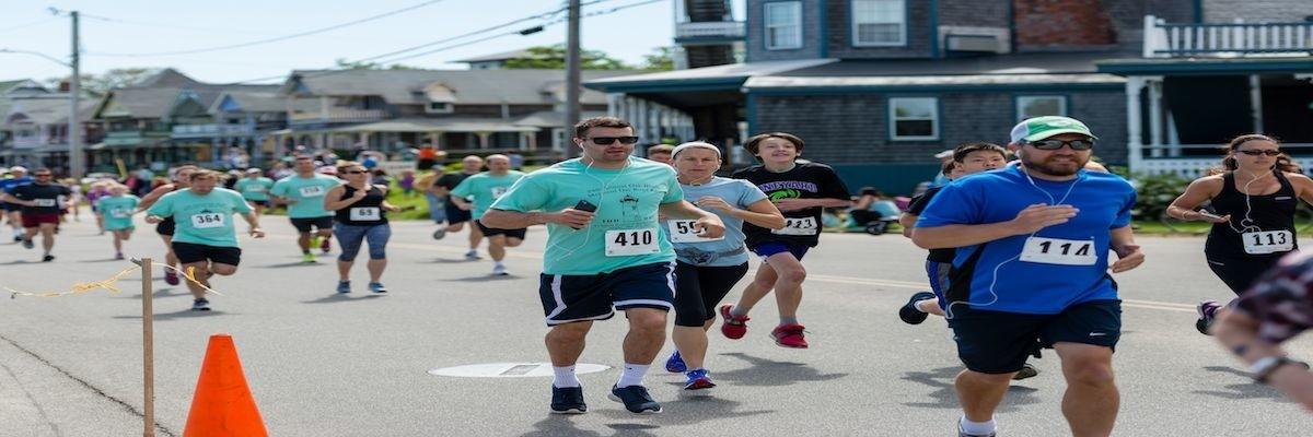 26th Annual Oak Bluffs Memorial Road Race Banner Image