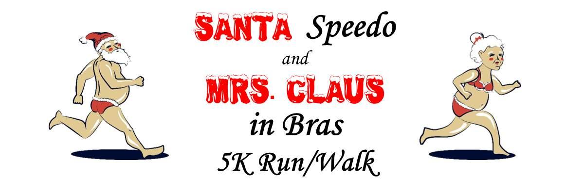 Southern Illinois World AIDS Day Santa Speedo and Mrs. Claus in Bras 5k Walk/Run Banner Image