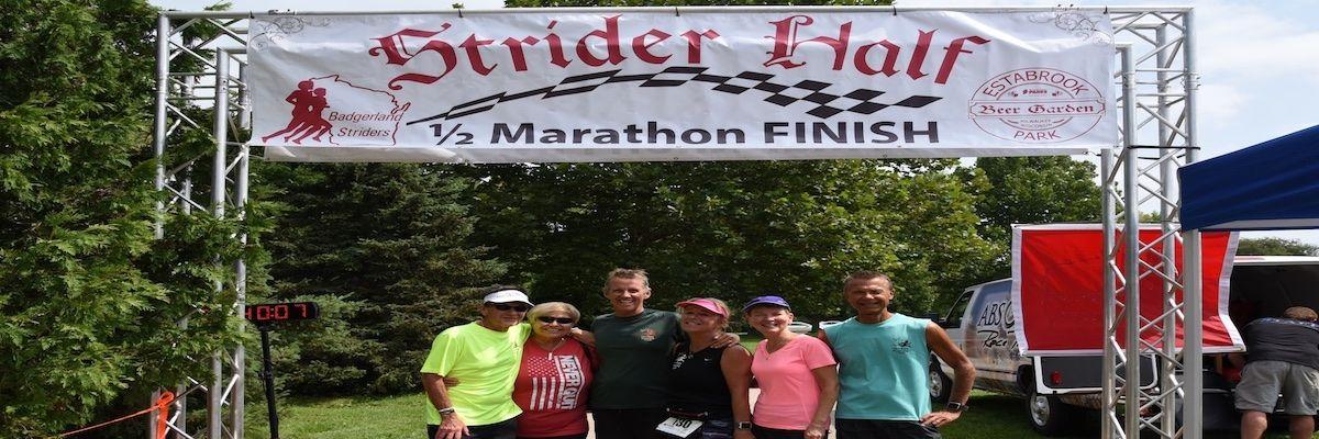 Strider Half Marathon Banner Image