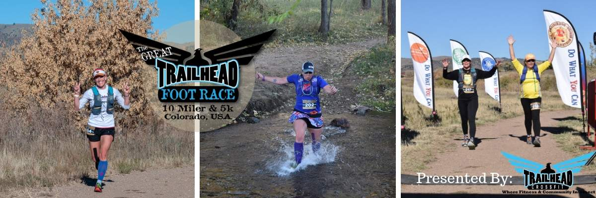 The Great Trailhead Foot Race 10 Miler & 5k (And YOUTH Race!) Banner Image