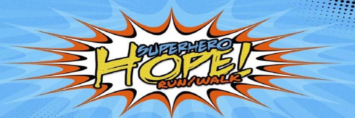 SuperHero HOPE 5K & 1 Mile Banner Image
