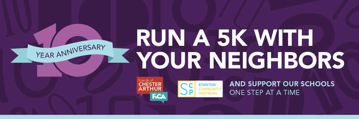 Southwest Center City 5k Run Banner Image
