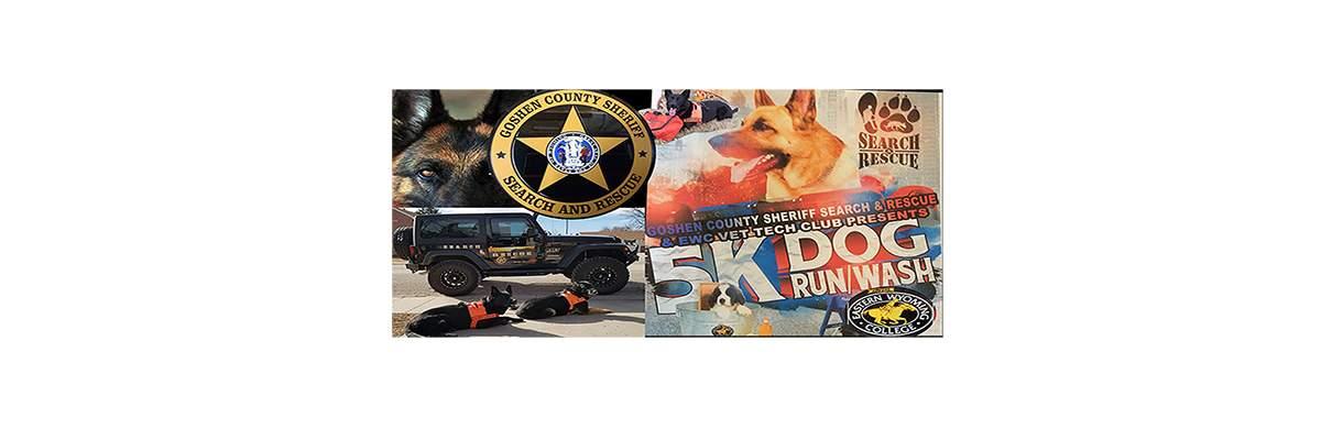 GCSAR/EWC 5k Fun Run With Pets & Dog Wash Banner Image