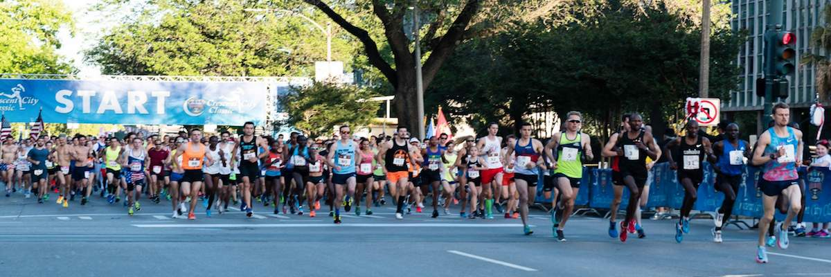 Allstate Sugar Bowl Crescent City Classic 10k Banner Image