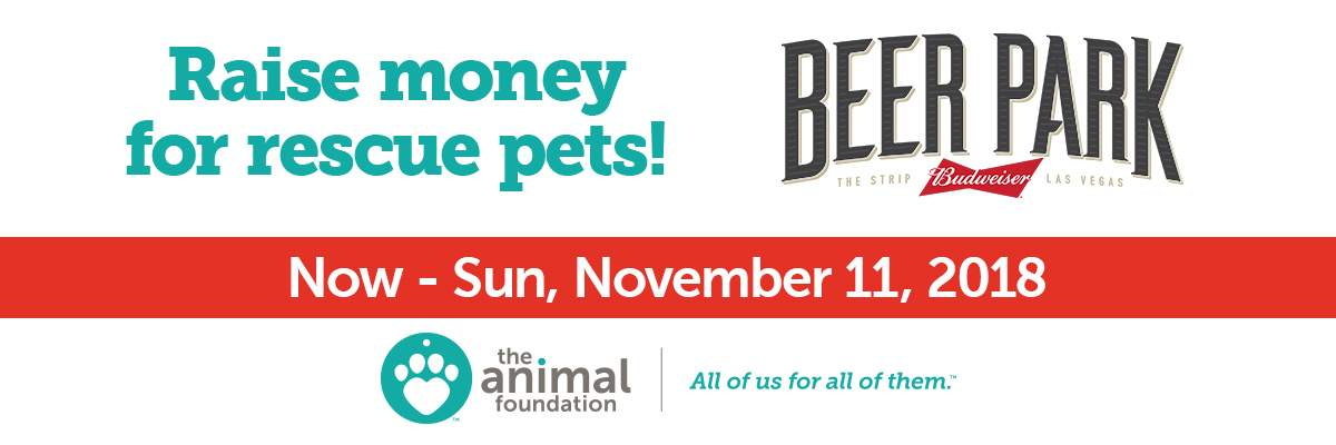 Beer Park Fundraiser For The Animal Foundation Banner Image