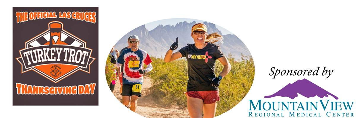The Official Las Cruces Thanksgiving Day Turkey Trot Banner Image