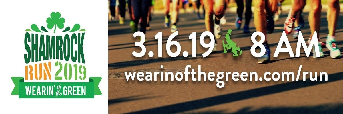 91f3ddf04 The Wearin' of the Green 5K Shamrock Run