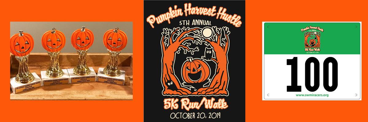 5th Annual Pumpkin Harvest Hustle Banner Image