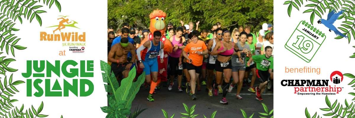 RunWild 5K Run/Walk Banner Image
