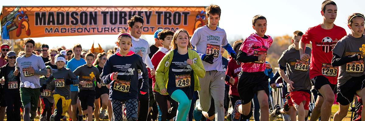 Madison College Turkey Trot Banner Image